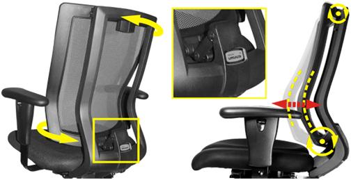 ортопедическая спинка кресла